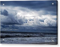 A Break In The Storm Acrylic Print by Linda Mesibov