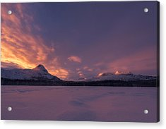 A Breath Of Change Acrylic Print by Tor-Ivar Naess