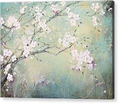 A Breath Of Spring Acrylic Print by Laura Lee Zanghetti