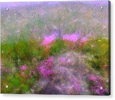 A Breeze In Monet's Garden Acrylic Print