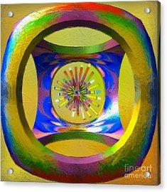 A Breezy Kaleidoscope Acrylic Print