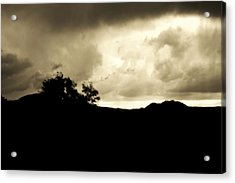 A Brewing Storm Acrylic Print by Nature Macabre Photography