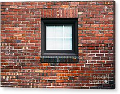 A Brick Wall. Seattle Washington Usa Acrylic Print by Nathan Griffith