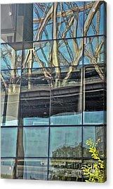 A Bridge Too Near Acrylic Print by Andrea Simon