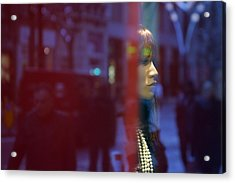 A Brief Look Thats Enough Acrylic Print by Jez C Self