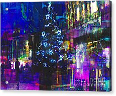 Acrylic Print featuring the photograph A Bright And Colourful Christmas by LemonArt Photography