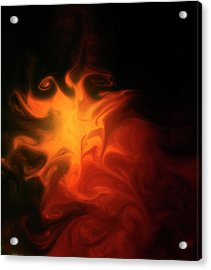 A Burning Passion Acrylic Print