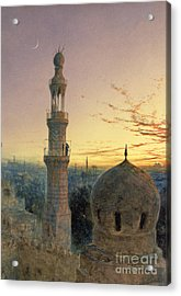 A Call To Prayer Acrylic Print by Henry Stanier