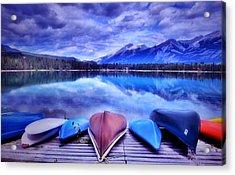 A Calm Afternoon At Lake Edith Acrylic Print by Tara Turner