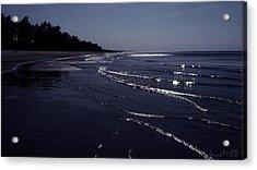 Acrylic Print featuring the photograph A Calm Evening by Maciek Froncisz