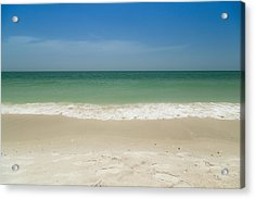 A Calm Wave Acrylic Print by Christopher L Thomley