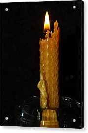 A Candle For Angels Acrylic Print by Michael Canning
