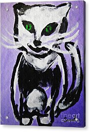 A Cat For Julia Acrylic Print by Sarah Loft