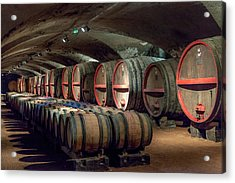 A Cellar Of Burgundy Acrylic Print by W Chris Fooshee