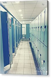 A Changing Room Acrylic Print