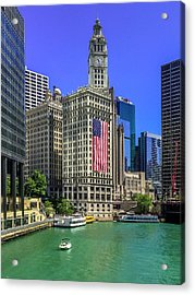 A Chicago Fourth Acrylic Print