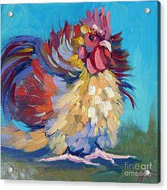 A Chicken Day Acrylic Print