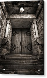 A Church Door Acrylic Print