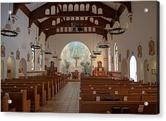 Acrylic Print featuring the photograph A Church Is Really Never Empty by Monte Stevens
