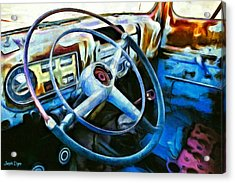 A Classical Vehicle - Pa Acrylic Print