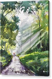 A Closer Walk With Thee Acrylic Print by Spencer Meagher