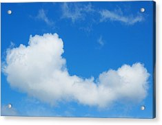 Acrylic Print featuring the photograph A Cloud For You by Gwyn Newcombe