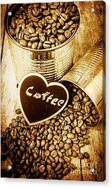 A Coffeehouse Romance Acrylic Print by Jorgo Photography - Wall Art Gallery