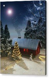 A Cold Winter Acrylic Print