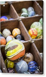 A Collection Of Marbles Acrylic Print
