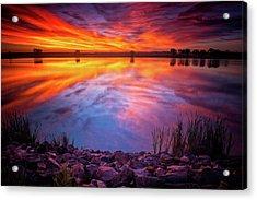 A Colorado Birthday Sunrise Acrylic Print