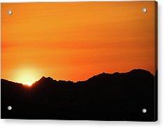 A Colorado Sunset Acrylic Print