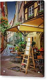 A Colorful Corner Of Strasbourg France Acrylic Print