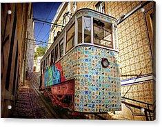 A Colorful Lisbon Tram  Acrylic Print