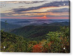 Acrylic Print featuring the photograph A Colorful Sunrise by Lori Coleman