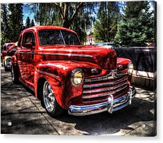 A Cool 46 Ford Coupe Acrylic Print