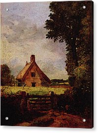 A Cottage In A Cornfield Acrylic Print
