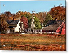 A Country Autumn Acrylic Print