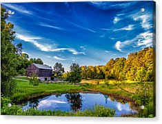 A Country Place Acrylic Print by Steve Harrington