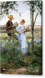 A Country Romance Acrylic Print by David B Walkley