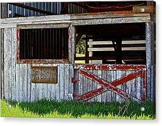 A Country Scene Acrylic Print