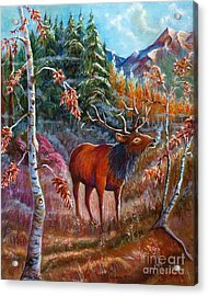 A Cry In The Wild Acrylic Print