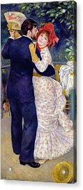 A Dance In The Country Acrylic Print by Pierre Auguste Renoir