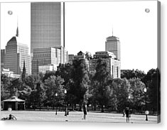 Acrylic Print featuring the photograph A Day At The Park by Corinne Rhode