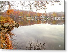 A Day In Autumn Acrylic Print