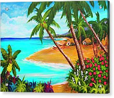 A Day In Paradise Hawaii #359 Acrylic Print by Donald k Hall