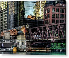 A Day In The City Acrylic Print