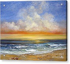 A Day To Remember  Sold Acrylic Print by Jeannette Ulrich