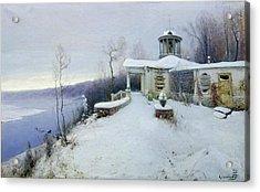 A Deserted Manor House  Acrylic Print