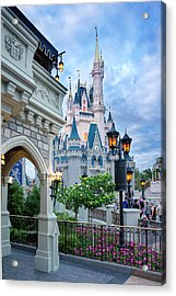 A Different Angle Acrylic Print by Greg Fortier