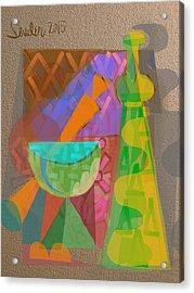 Acrylic Print featuring the digital art A Different Light by Clyde Semler